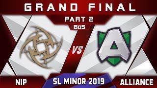 NiP vs Alliance [GREAT] Grand Final Starladder SL Kiev Minor 2019 Highlights Dota 2 - [Part 2]
