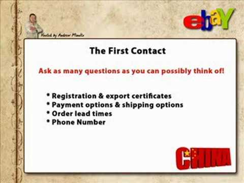 How To Import Products From China - Part 4