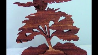 Scroll Saw Tree Scene