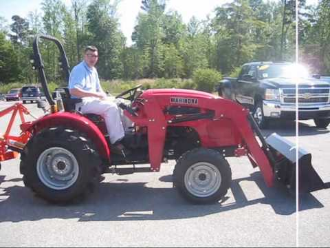 How To Remove A Front End Loader From A Mahindra Tractor
