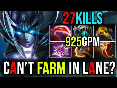 [Phantom Assassin] What to Do When You Get a Bad Lane 27Kills   Dota 2 Immortal Rank FullGame