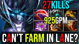 [Phantom Assassin] What to Do When You Get a Bad Lane 27Kills | Dota 2 Immortal Rank FullGame