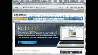 Free Kindle to PC software - Also available for Android, tablet, iphone and mac