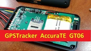 Разбираем GPS Tracker AccuraTE GT06 TK100