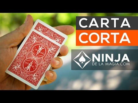 Carta Corta - NINJA DE LA MAGIA 3 - Truco GRATIS