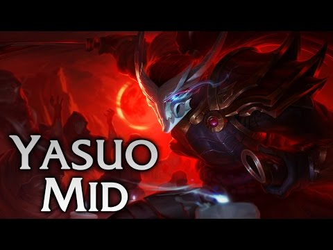 Blood Moon Yasuo Mid - Full Game Commentary
