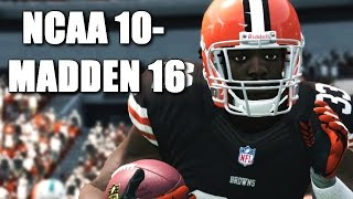 Trent Richardson Through The Years - NCAA Football 10 - Madden 16