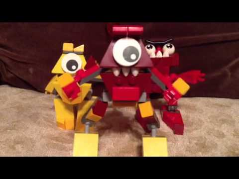 Mixels Flain And Teslo Mixels:teslo And Zorch Mix