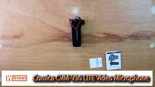 Comica CVM V30 LITE Video Microphone testing review