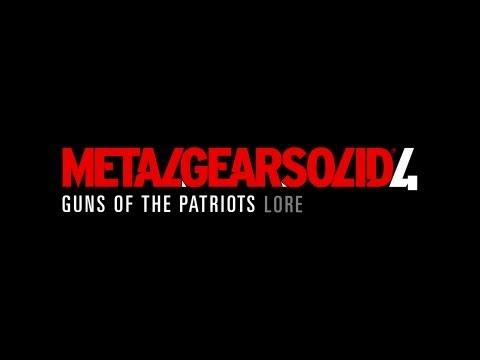 Lore - Metal Gear Solid 4 Lore In A Minute! video