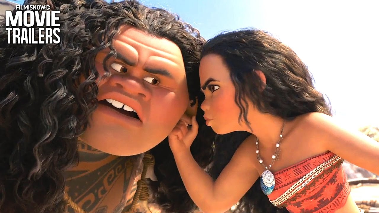 MOANA meets Maui in a new clip from the Disney Animated movie