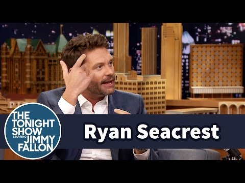 Ryan Seacrest Broke a Glass Door While Naked