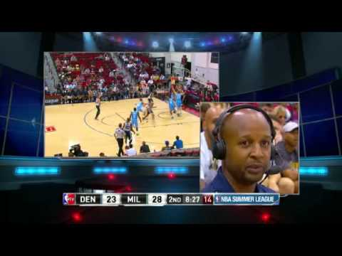 Brian Shaw Interview with NBA TV During Summer League Game Nuggets vs Bucks