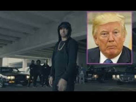 Jah Dale Reaction to Eminem Rips Donald Trump In BET Hip Hop Awards Freestyle - President Diss!