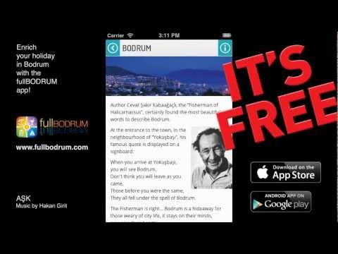 Enrich your holiday in Bodrum with the fullBODRUM app!