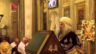 الأنبا ماركوس يترأس قداس عيد القيامة بالكاتدرائية المرقسية بالإسكندرية