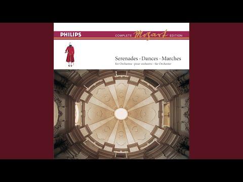 Mozart: Six Minuets K.105 (attribution doubtful) - No.3 in D