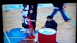 1 Million Lebanese Lira Half-Court Shot