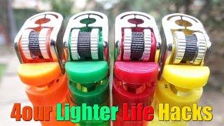 4 Lighter Life Hacks
