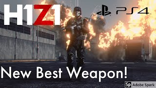 H1Z1 PS4 NEW BEST WEAPON