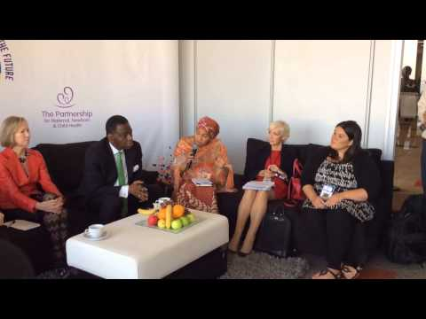 Leadership Dialogue with Youth at the Partners' Forum 2014 #PMNCHLive (FULL)