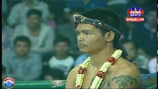 Ly Phea Vs Phetngarm (Thai), SEATV boxing tv 03-Nov-2018