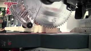 How to Trench Cut Using a Bosch GCM12 GDL Professional Glide Mitre Saw