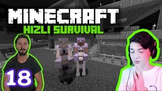 AT AVI! - Minecraft Hızlı Survival - #18