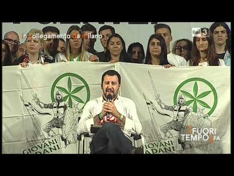"""Matteo Salvini a """"Che fuori tempo che fa"""" (18/10/2014)"""