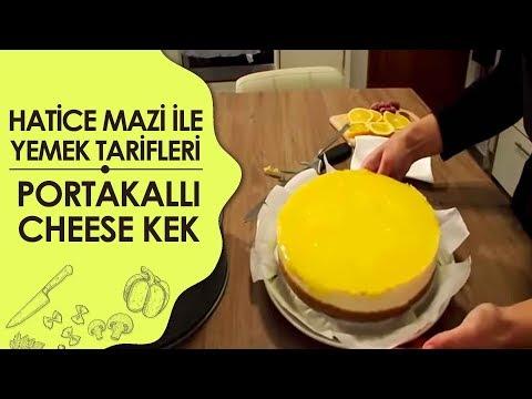 Portakallı Cheese Kek Tarifi Videosu