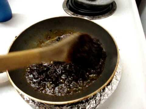 Receta para hacer el guisado de mole para tamales comida mexicana 3/6