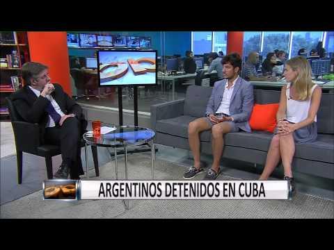 Argentinos detenidos en Cuba