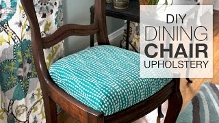(8.73 MB) How to Reupholster Dining Chairs - DIY Tutorial Mp3