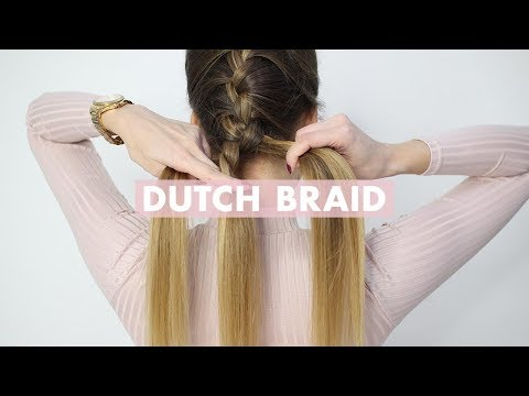How To Do a Dutch Braid: Tutorial For Beginners | Back To Basics - YouTube