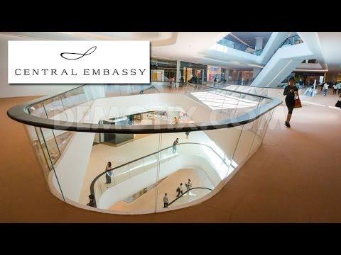 Central Embassy Bangkok New Shopping Mall, The Biggest Mall Bangkok (Harrods The Tea Room)