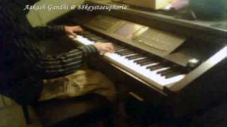 Jai Ho + Latika's Theme (Slumdog Millionaire) Piano Cover by Aakash Gandhi