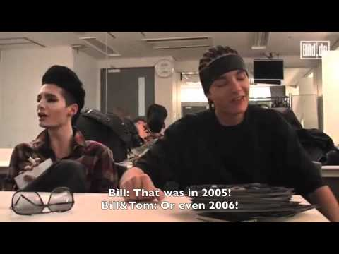 Bild.de Talk Dirty with Tokio Hotel (English Subs) Interview