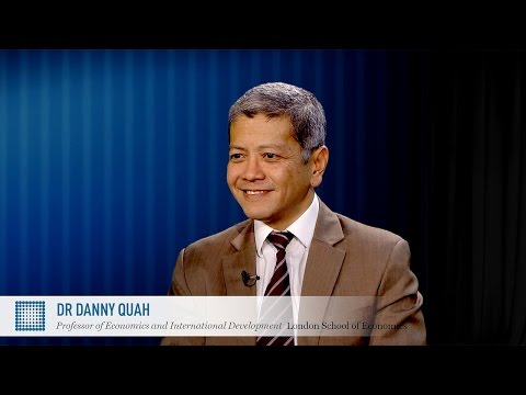 Are India and Brazil the BRIICs outliers? LSE Professor Danny Quah | World Finance Videos