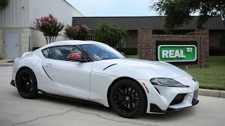 Jay Picks Up a Launch Edition Supra A90