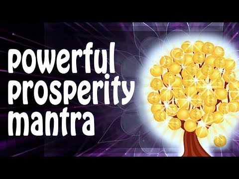 MOST POWERFUL PROSPERITY and ABUNDANCE MANTRA protection ॐ Powerful Mantras (PM)