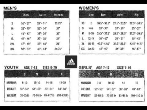 Adidas Shoe Size Chart Adidas Shoes Size Chart