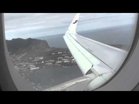 *Onboard* Finnair Airbus A321ER Sharklet [OH-LZG] || AY1373|Landing To Funchal Airport, Madeira| Ha