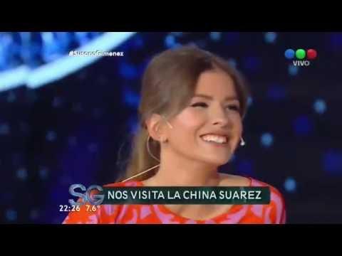 """China Suárez: """"Soy enamoradiza"""" - Susana Giménez"""