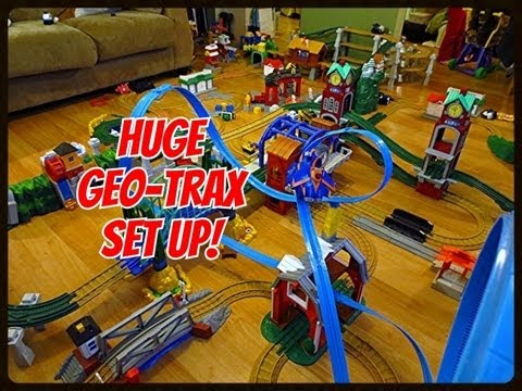 geotrax: huge livingroom setup youtube