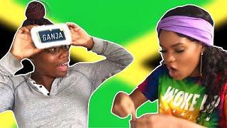 PLAYING JAMAICAN CHARADES