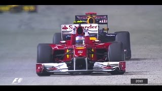 Your Favourite Singapore Grand Prix - 2010 Alonso Fends Off Vettel