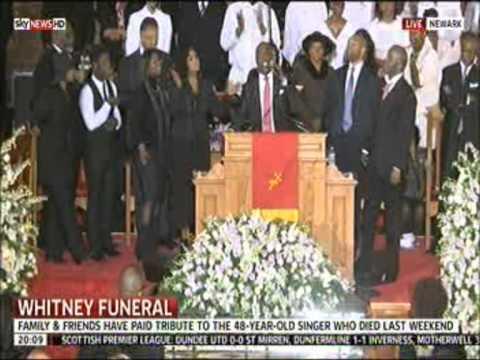 The Winans Family sing Tomorrow at Whitney Houston's funeral