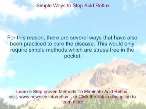 Acid Reflux Symptoms Treatment   Here Acid Reflux Treatment