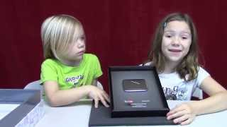 Silver Play Button unboxing!​​​ | Life With Jillian & Addie | Babyteeth4​​​