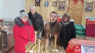 Благодарность за подсвечники в храм Вмч. Георгия Победоносца, с. Свистуновка, Луганская область